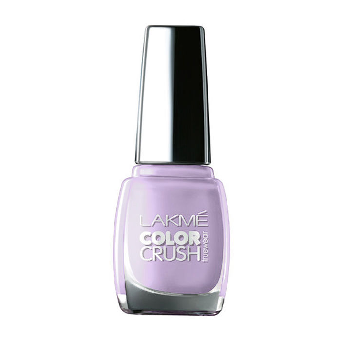 Buy Lakme True Wear Color Crush Nail Color Shade 48 (9 ml)-Purplle