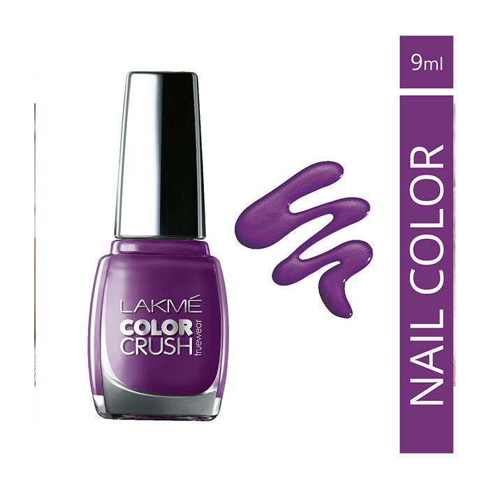 Buy Lakme True Wear Color Crush Nail Color Shade 57 (9 ml)-Purplle