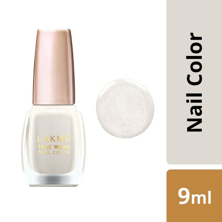 Buy Lakme True Wear Nail Color - Classics Vanilla Nudes V014 (9 ml)-Purplle