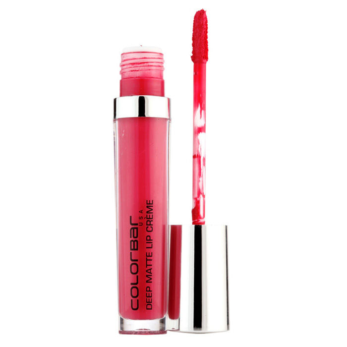 Buy Colorbar Deep Matte Lip Creme Deep Lily 002 (6 ml)-Purplle