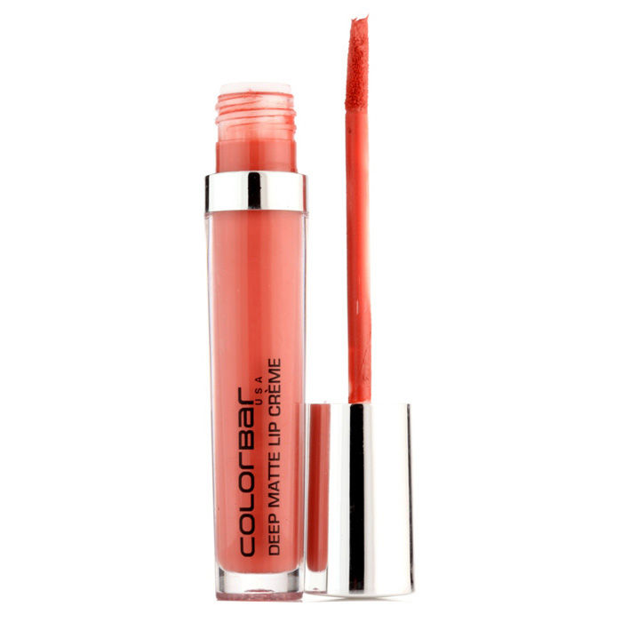 Buy Colorbar Deep Matte Lip Creme Deep Peach 009 (6 ml)-Purplle