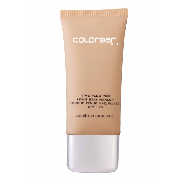 Buy Colorbar Time Plus Pro Long Stay Makeup Base New Light Coral 001 (30 ml)-Purplle