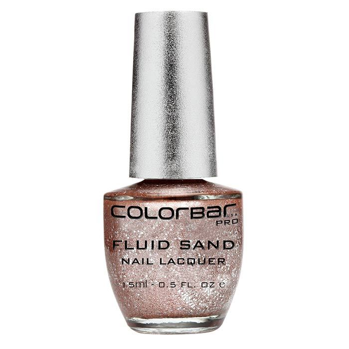 Buy Colorbar Fluid Sand Nail Lacquer Love Boat (15 ml)-Purplle