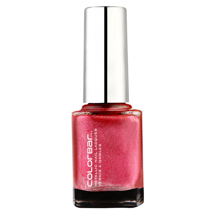 Buy Colorbar Mettalic Nail Lacquer Bejewelled (9 ml)-Purplle
