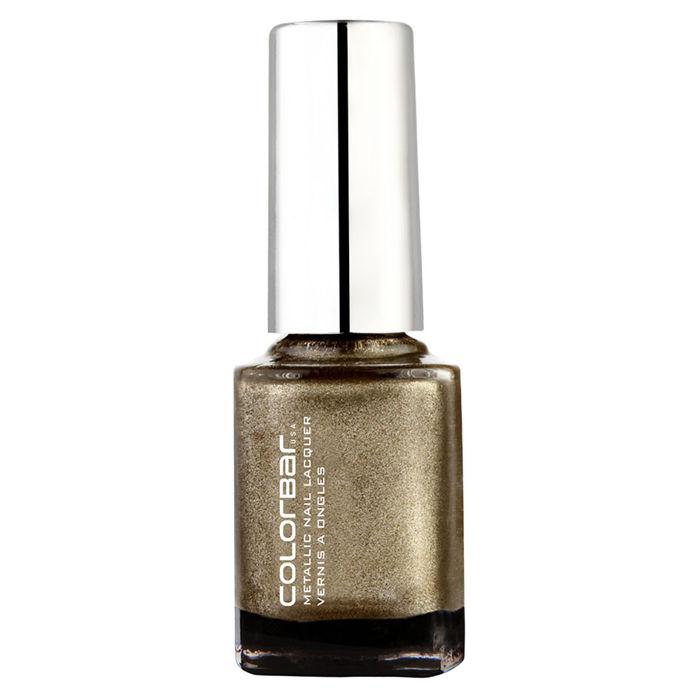 Buy Colorbar Mettalic Nail Lacquer Haute Copper (9 ml)-Purplle