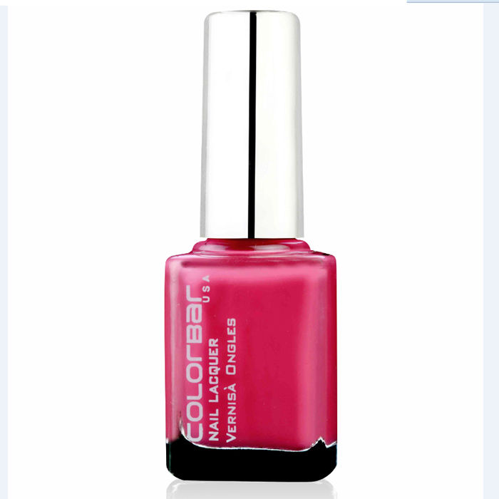Buy Colorbar Nail Lacquer Nex Feisty Pink 121 (9 ml)-Purplle