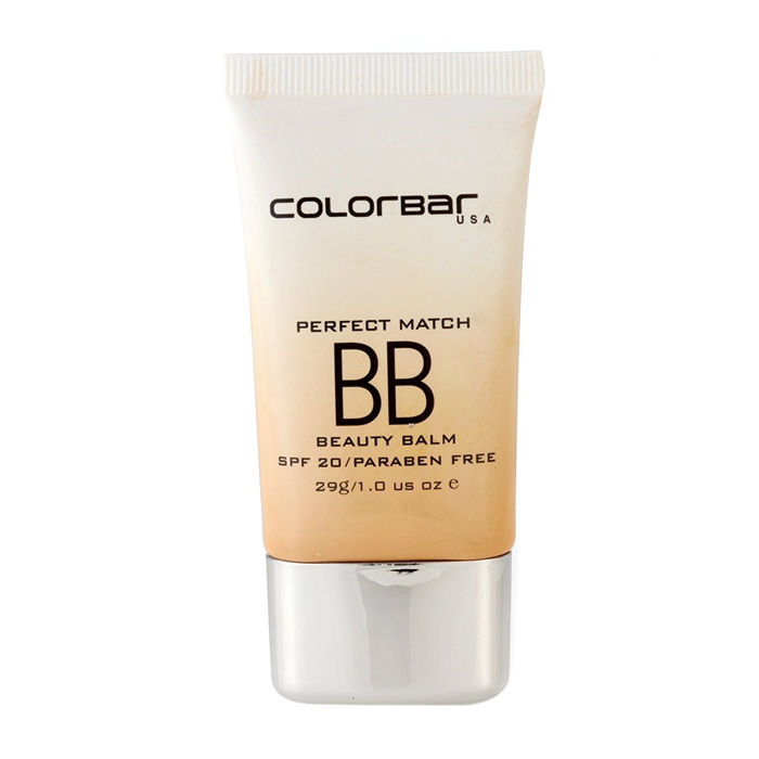 Buy Colorbar Perfect Match Beauty Balm SPF20 White Light (29 g)-Purplle
