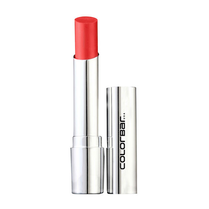 Buy Colorbar Sheer Creme Lust Lipstick Vivid Peach 04 (3.5 g)-Purplle
