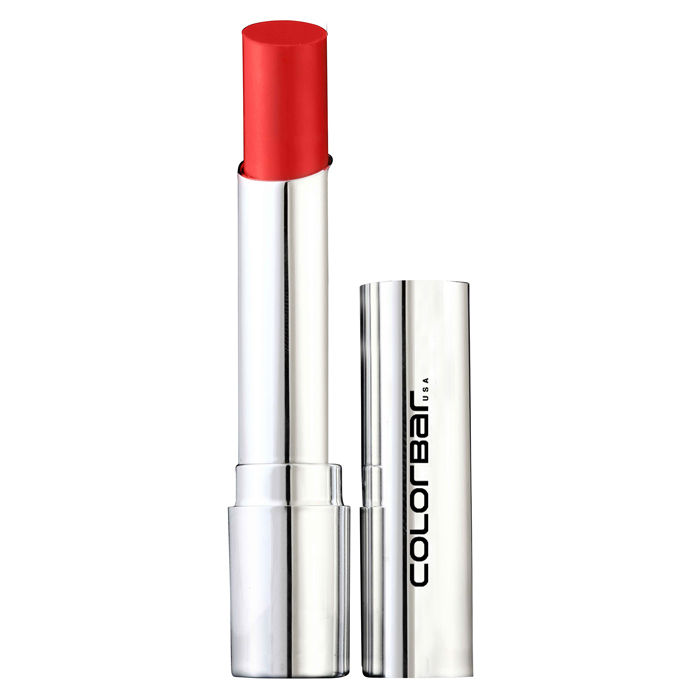 Buy Colorbar Sheer Creme Lust Lipstick Deep Orange (3.5 g)-Purplle
