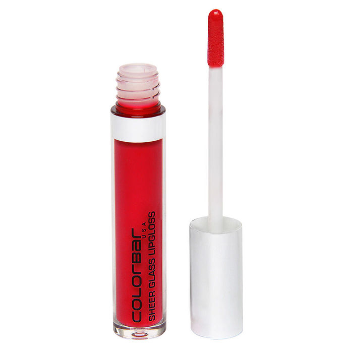 Buy Colorbar Sheer Glass Lip Gloss Red Glass (3.3 ml)-Purplle