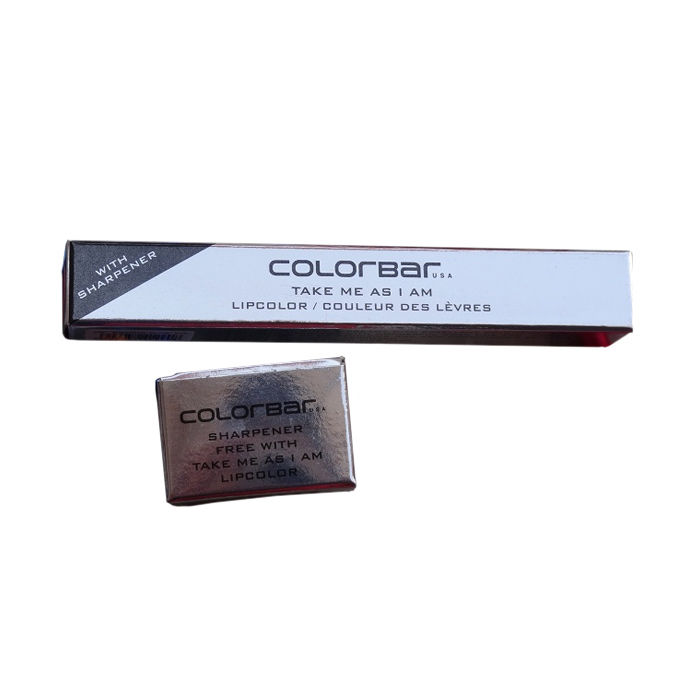 Buy Colorbar Take Me As I Am Lipstick Sensuous Red 001(3.94 g)+ Free Sharpner-Purplle