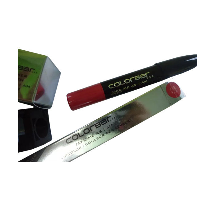Buy Colorbar Take Me As I Am Lipstick Flirtatious Pink 002(3.94 g)+Free Sharpner-Purplle