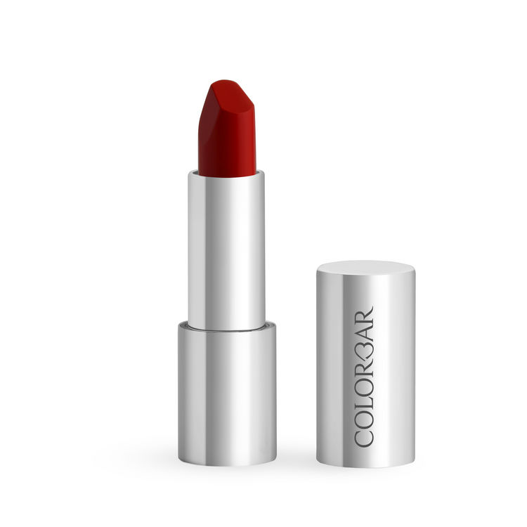 Buy Colorbar Ultimate 8Hrs Stay Lipstick Brick Red 001 (4.2 g)-Purplle
