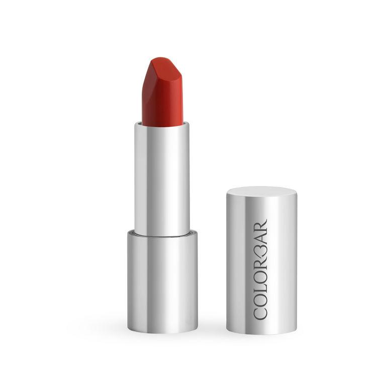 Buy Colorbar Ultimate 8Hrs Stay Lipstick Ocean Orange 007 (4.2 g)-Purplle