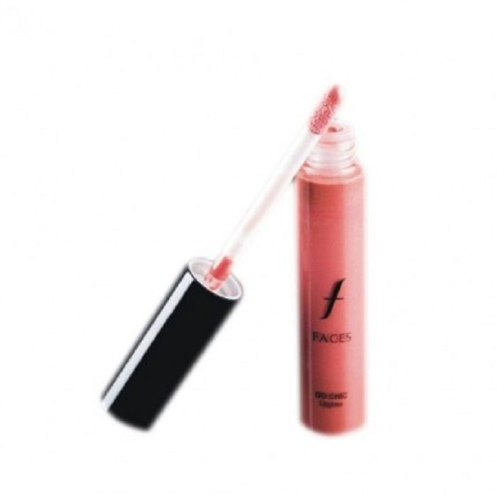 Buy Faces Canada Go Chic Lip Gloss Peachy Blush 17 (7.5 ml)-Purplle
