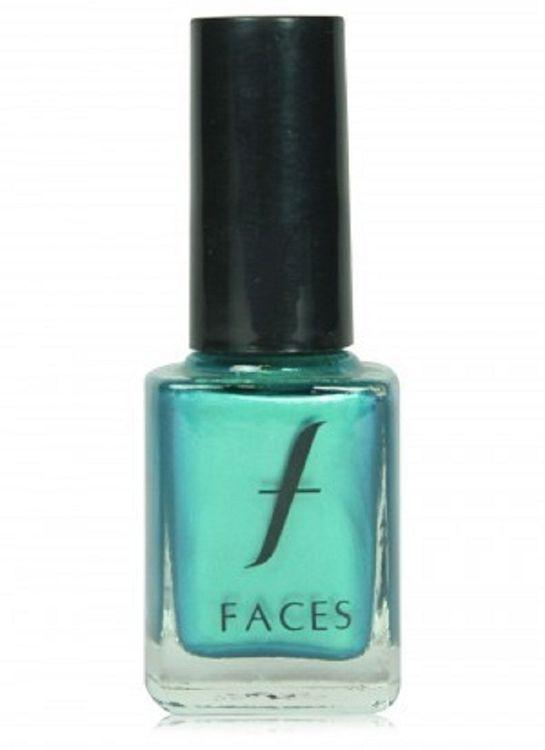 Buy Faces Canada Hi Shine Nail Enamel Emerald Dazzle 38 (9 ml)-Purplle