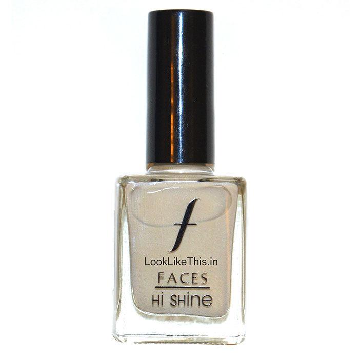 Buy Faces Canada Hi Shine Nail Enamel Pastel Mauve 43 (9 ml)-Purplle