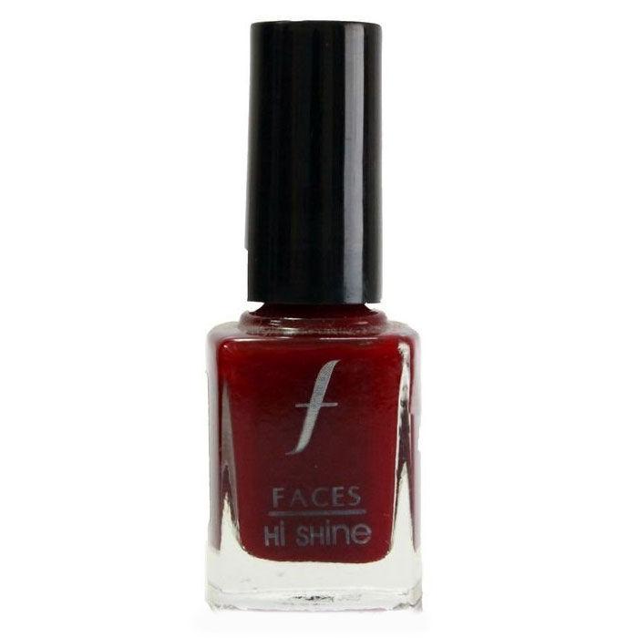 Buy Faces Canada Hi Shine Nail Enamel Plum Palooza 64 (9 ml)-Purplle