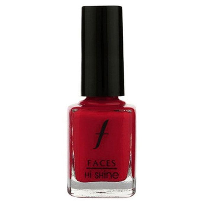 Buy Faces Canada Hi Shine Nail Enamel Sangria 65 (9 ml)-Purplle