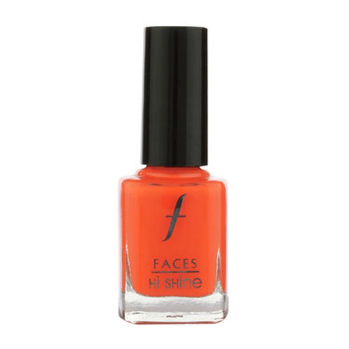 Buy Faces Canada Hi Shine Nail Enamel Tangerine 46 (9 ml)-Purplle