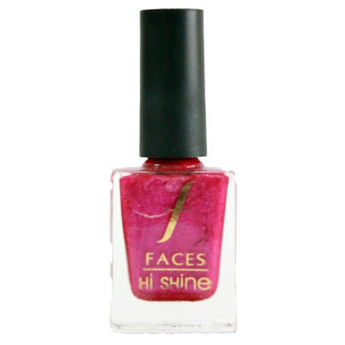 Buy Faces Canada Hi Shine Nail Enamel Tie The Knot- Pink 125 (9 ml)-Purplle