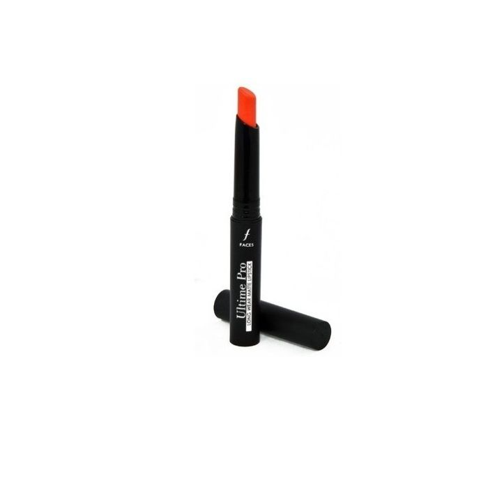 Buy Faces Canada Ultime Pro Longwear Matte Lipstick Red Addict 13 (2.5 g)-Purplle