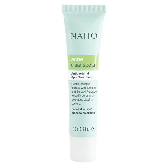Buy Natio Acne Clear Spots Purifying Treatment (20 g)-Purplle