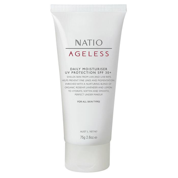 Buy Natio Ageless Daily Moisturiser Uv Protection SPF 30+ (75 g)-Purplle