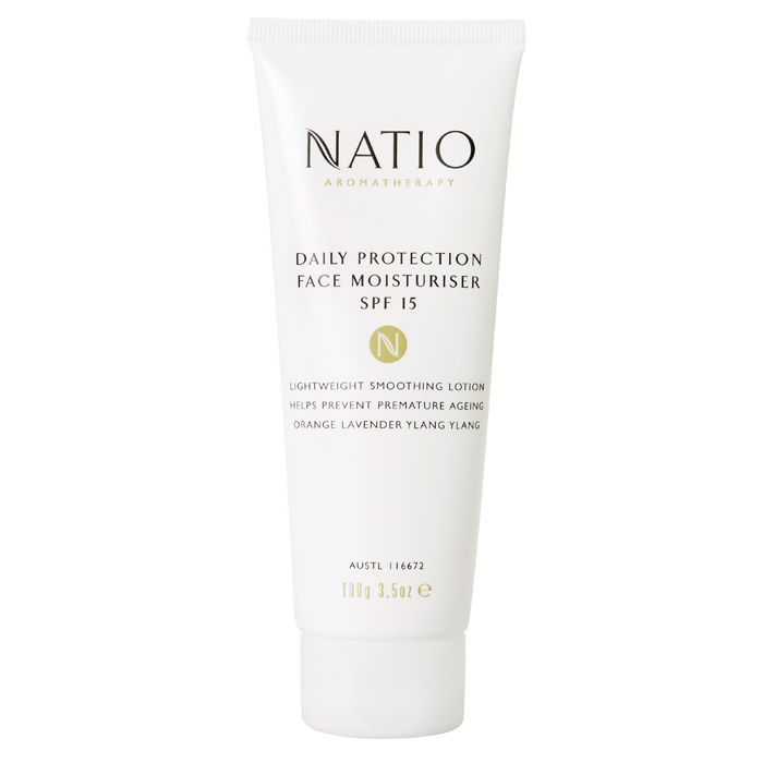 Buy Natio Aromatherapy Daily Protection Face Moisturiser SPF 15 (100 g)-Purplle