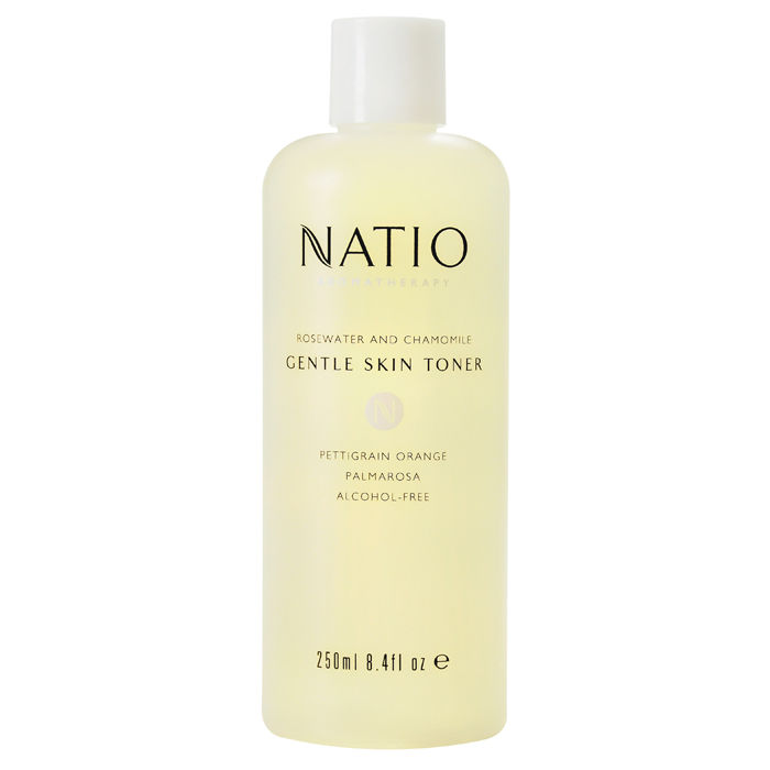 Buy Natio Aromatherapy Rosewater And Chamomile Gentle Skin Toner (250 ml)-Purplle