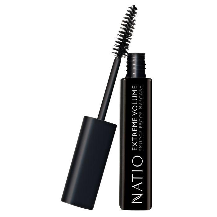 Buy Natio Extreme Volume Smudge Proof Mascara Brown Black (10 ml)-Purplle