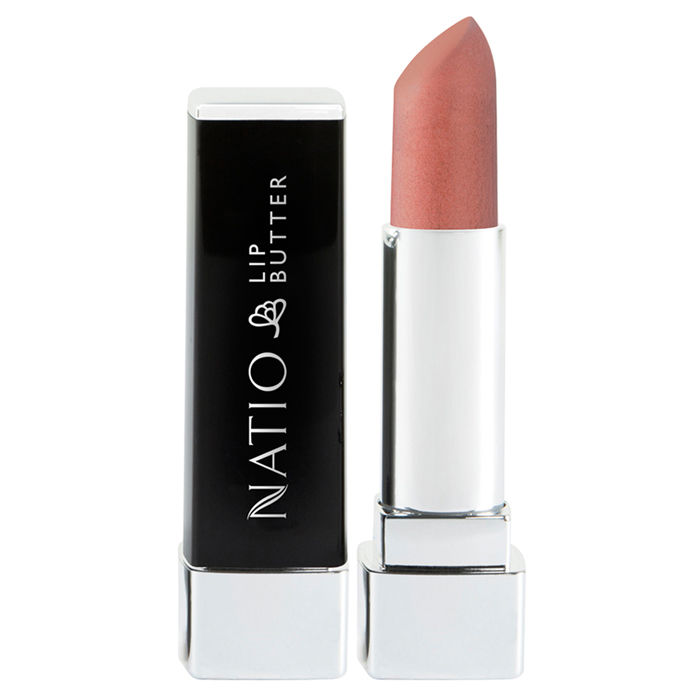 Buy Natio Lip Butter Peachy (4 g)-Purplle