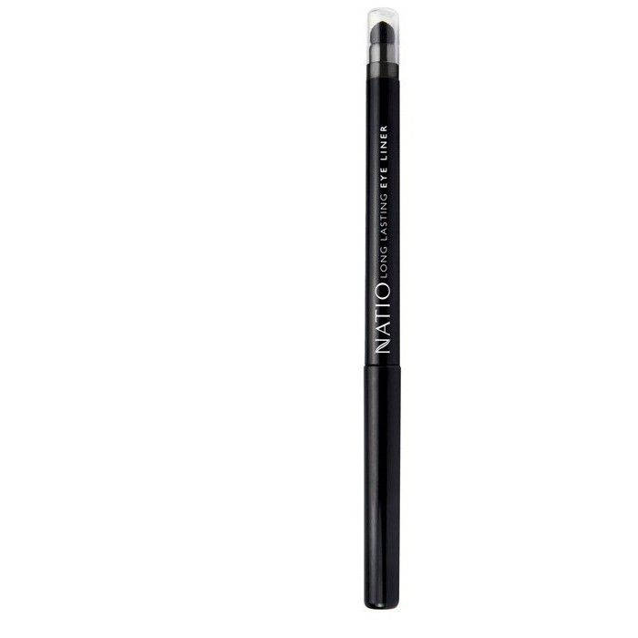 Buy Natio Long Lasting Eye Liner Black (1.6 g)-Purplle