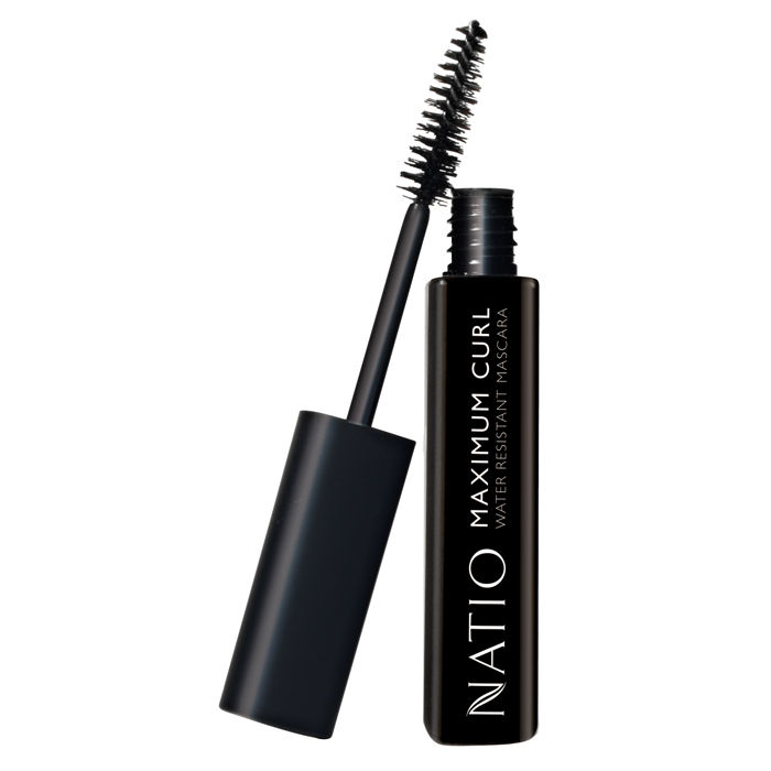 Buy Natio Maximum Curl Water Resistant Mascara Blackest Black (10 ml)-Purplle