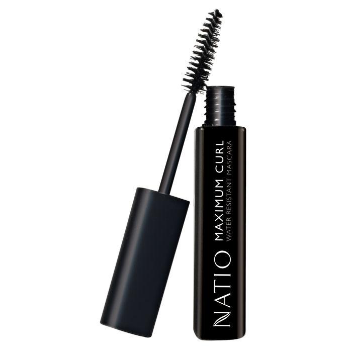 Buy Natio Maximum Curl Water Resistant Mascara Blackest Black (10 ml)-Purplle