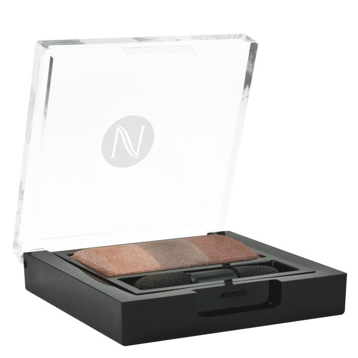 Buy Natio Mineral Eyeshadow Trio Bronzed (6 g)-Purplle