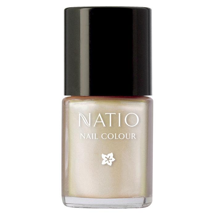 Buy Natio Nail Colour Aura (15 ml)-Purplle