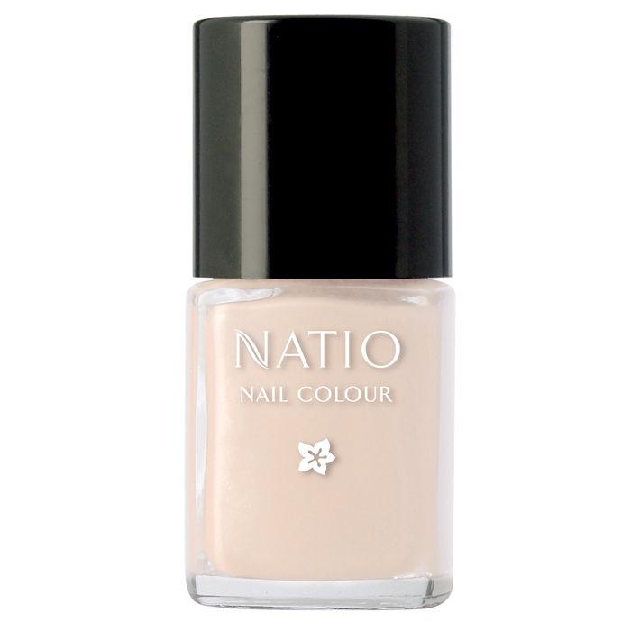 Buy Natio Nail Colour French (15 ml)-Purplle