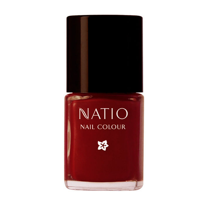 Buy Natio Nail Colour Ruby (15 ml)-Purplle