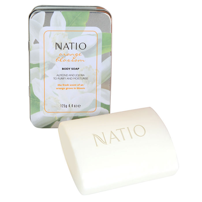 Buy Natio Orange Blossom Body Soap (125 g)-Purplle