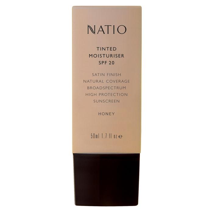 Buy Natio Tinted Moisturiser SPF 20 Honey (50 ml)-Purplle