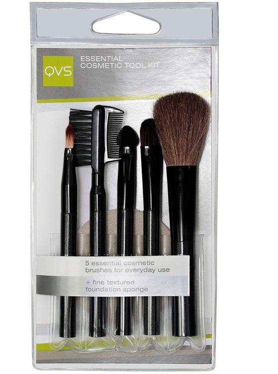 Buy QVS Essential Cosmetic Tool Kit-Purplle