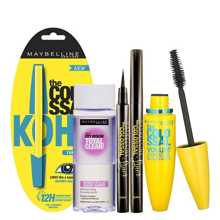 Buy Maybelline Colossal Eye Kit-Purplle