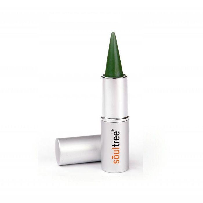 Buy Soultree Ayurvedic Kajal Colour Kohl Fem Green 001 (3 g)-Purplle