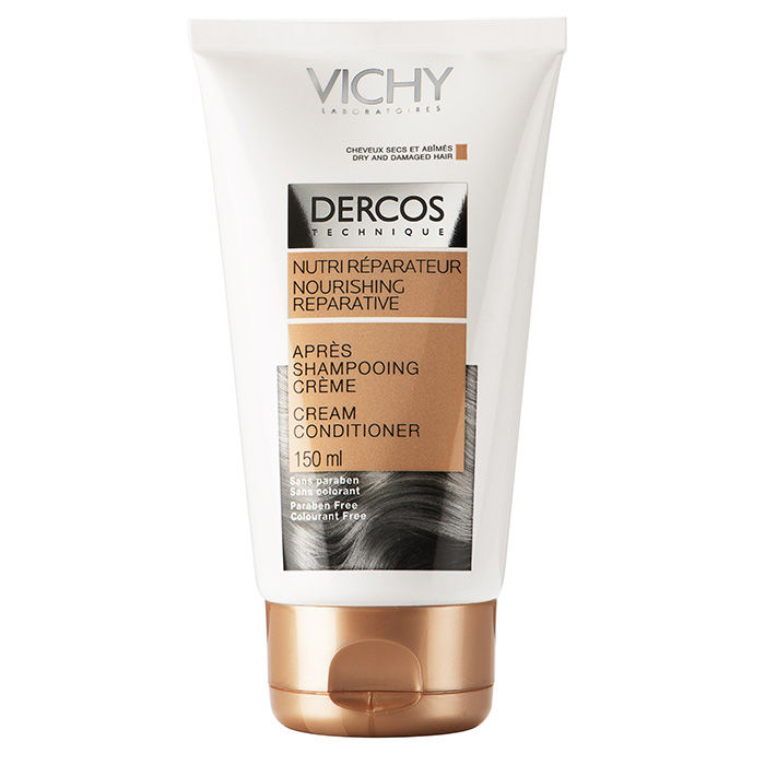 Buy Vichy Dercos Nourishing Reparative Cream Conditioner Dry And Damaged Hair (150 ml)-Purplle