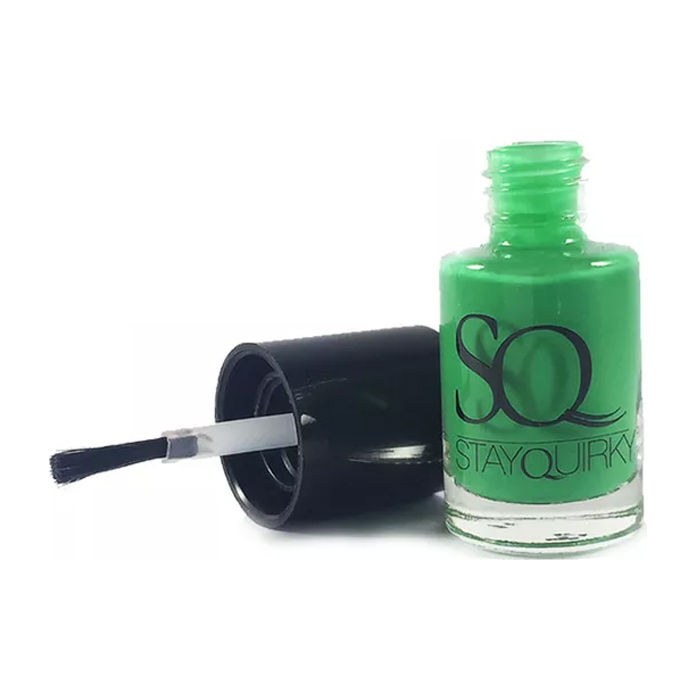 Buy Stay Quirky Nail Polish, Twisted Green Apple 499 (6 ml)-Purplle