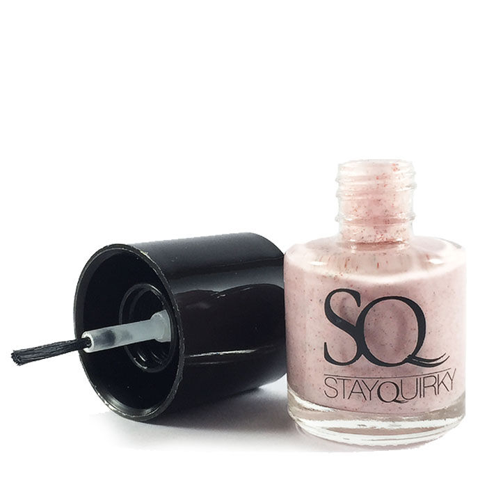Buy Stay Quirky Nail Polish, Jersey Effect, Sacred Beauty 823 (8 ml)-Purplle
