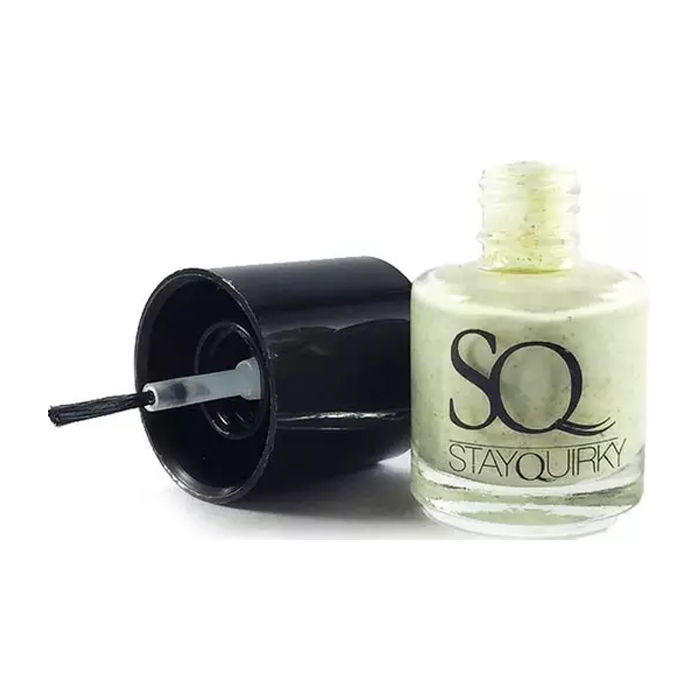Buy Stay Quirky Nail Polish, Jersey Effect, Smokin Hawwt 828 (8 ml)-Purplle
