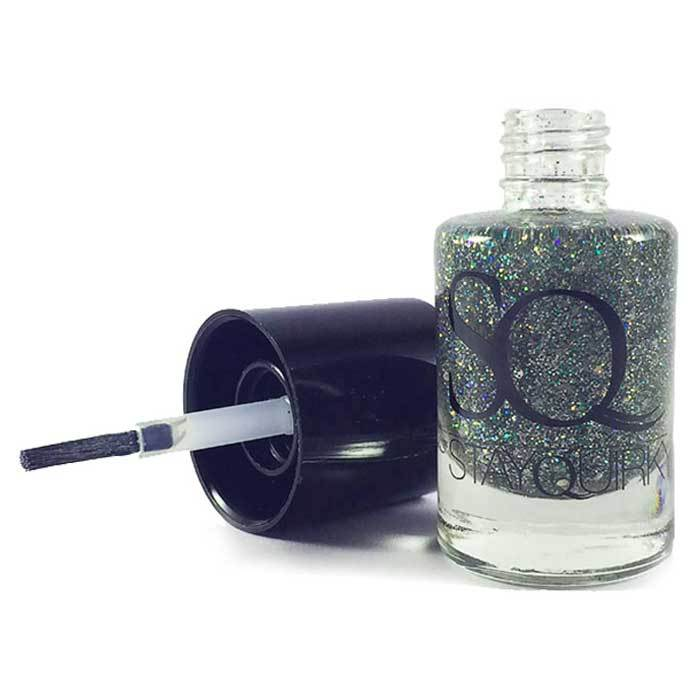 Buy Stay Quirky Nail Polish, Glitter, Green - Elfin-ish 658-Purplle