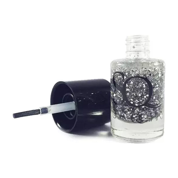 Buy Stay Quirky Nail Polish, Glitter, Silver - Chant Enchant 667 (10 ml)-Purplle